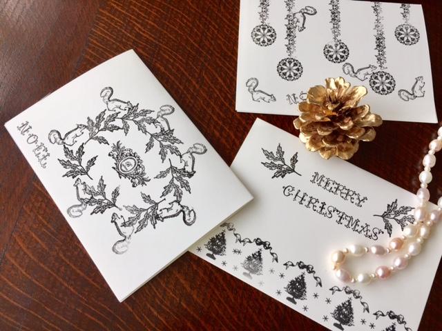 gobeゴービースタンプ(第三弾)クリスマスカードが簡単&おしゃれに出来る