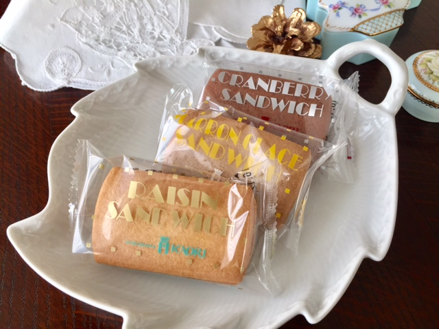 横浜定番手土産 やっぱりフランス菓子「かをり」のレーズンサンドウィッチ