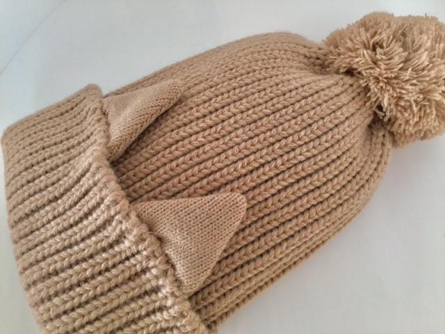 「フェリシモ猫部の猫耳ニット帽」であったか可愛い冬のお出掛け