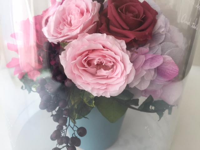 生花のようなプリザーブドフラワー専門店「コルロール COL ROULÉ」