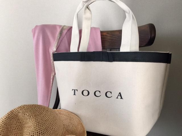 春夏マストアイテム!TOCCAのムック本〈付録〉大人可愛い白トートバッグ