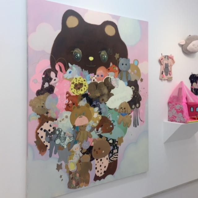 長井朋子さん個展、渋谷ヒカリエのギャラリーに行ってきました♪