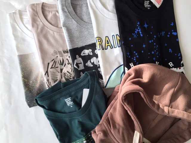 【グラニフ(graniph)】2019年Tシャツ福袋の中身開封レビュー♪