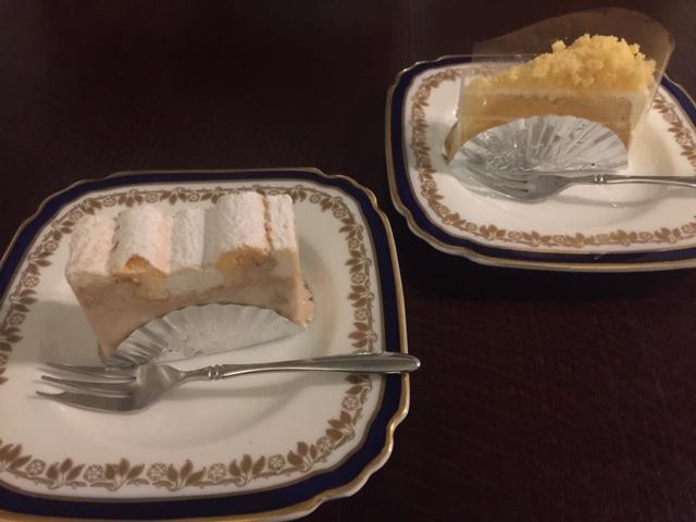 ツッカベッカライカヌヤマのケーキを購入してみました