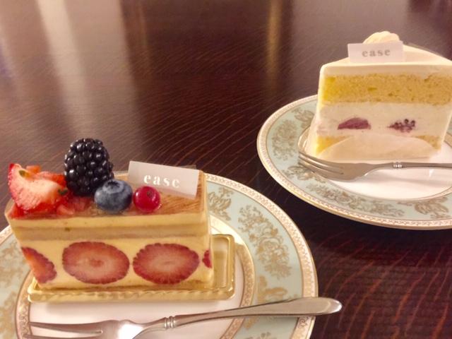 日本橋兜町パティスリーイーズの苺づくしケーキ、口コミレビュー♪