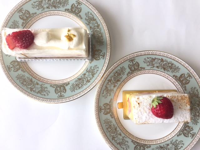 新宿高島屋【パティシェリア】でケーキの食べ比べ