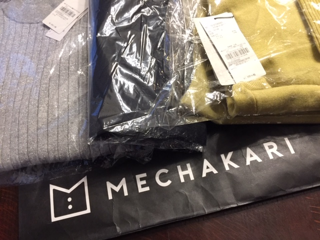 【MECHAKARI メチャカリ】新品洋服借り放題 1ヵ月無料体験してみました♪