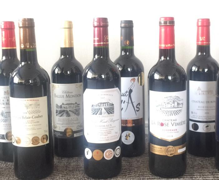 金賞ボルドー特選赤ワイン12本セットが格安で通販購入できました。